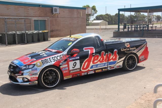 The Jesus Racing V8 Ute